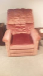 Rose reclining chair