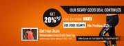 Onzie Sale! Get 20% Discount on Entire Onzie Fitness Wear.