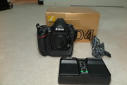 NIKON D4 BODY IN PERFECT LIKE NEW CONDITION