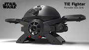 Star Wars Tie Fighter SW-2201 Portable LP Gas Grill!!
