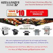 Find the Best Christmas offers for your favorite Barbecue Grill Parts!