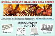 Shop Gas Grill Heat Plates,  Burners,  Igniters,  Cooking Grids