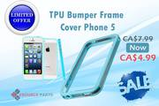 Best Provide TPU Bumper Frame Cover iPhone 5