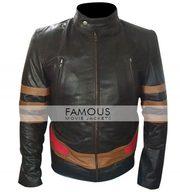 X-Men Wolverine XO Biker Leather Jacket