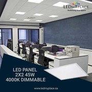 An Energy-Efficient LED Panel light For lighting in your Indoor.