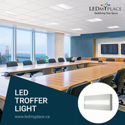 Introducing  The LED Troffer Light For An Everlasting Lighting Comfort