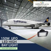 Install This High Bay LED Light 150W UFO 5700K  Highly Efficient Light