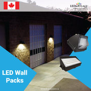 Make your outdoor walls brighter and safer with this LED Wall Pack