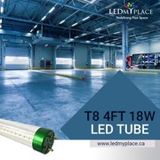 Use Single Pin 18w LED Tube For Brighter Ambience