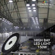 Purchase Now!The 150w UFO LED High bay Lights for Maximun Illumination