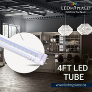 Get the Smart Light by Using T8 4ft 18W LED Tubes