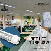 Replace Fluorescent Tubes With Single Ended 8ft LED Tubes