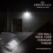 Use Better Form of Lighting by using 120W LED Wall Pack Lights