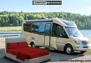 Choose from a wide variety & Trendy Colors of comfortable RV Bedding